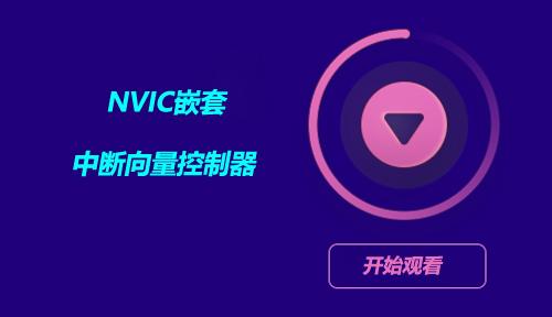 第三十九节:NVIC嵌套中断向量控制器_STM32F4中断_嵌入式入门之智能硬件